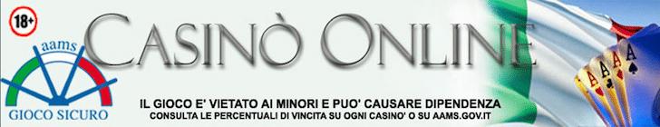 casino online aams legale italia